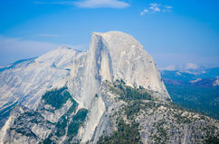 White Mountain Top Under Blue Sky Royalty Free Stock Images
