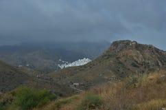 White mountain village of Mojacar Royalty Free Stock Images