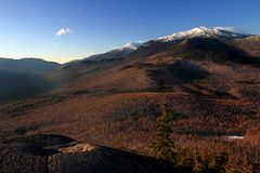 White mountains in Autumn Royalty Free Stock Images