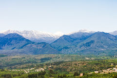 White mountains of Crete Royalty Free Stock Image
