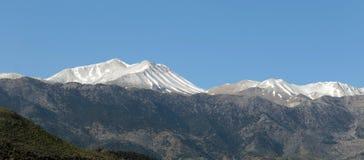 White mountains of Crete Royalty Free Stock Photo