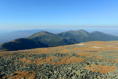 White Mountains in Fall, New Hampshire, USA Royalty Free Stock Photo