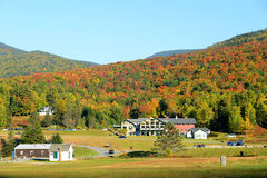 White Mountains In Fall, New Hampshire, USA Royalty Free Stock Images