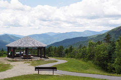 White Mountains Lookout - Kancamagus Scenic Byway Stock Image