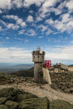 White Mountains Observatory Stock Images