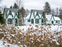 White Mountains Vacation Cottages in New Hampshire Stock Images