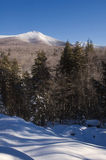 White Mountains Winter Landscape Royalty Free Stock Image