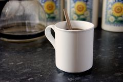 White Mug 2 royalty free stock images