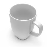 White mug Stock Images