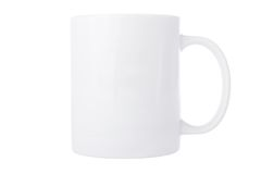 White mug Royalty Free Stock Images