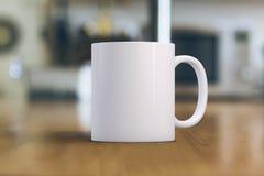 White Mug Mockup Stock Photos