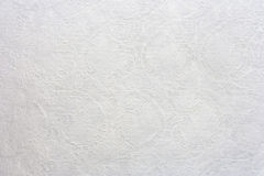 White mulberry paper with line Thai art. Background Royalty Free Stock Images
