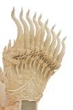White Naga Statues Stock Photography
