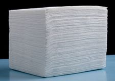 White napkin Stock Photography