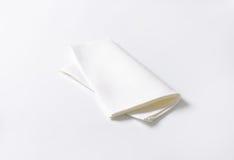 White napkin Stock Photo