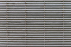 White natural lath wall pattern backdrop. Natural wooden lath wall pattern backdrop Royalty Free Stock Image