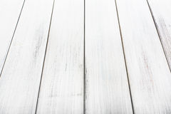 White natural painted wood texture and background. Stock Images