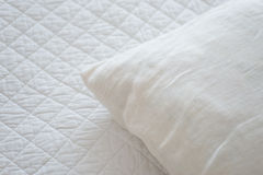 White natural textiles Royalty Free Stock Images
