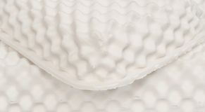 White nature para latex rubber, pillow and mattress. Material royalty free stock photo