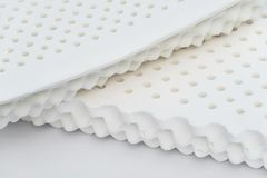 White nature para latex rubber, pillow and mattress. Material royalty free stock photography