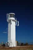 White Navigation Aid. The Marino Lighthouse at Marino, Adelaide, South Australia stock photos