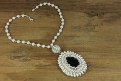 White necklace Stock Photos