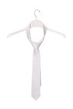 White necktie Royalty Free Stock Images