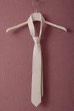 White necktie Stock Photos