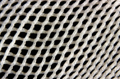 White net on black background Royalty Free Stock Photography