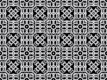 White net on black background. seamless pattern Stock Photography