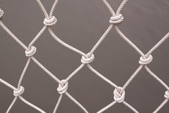 A white net from shipping Stock Image