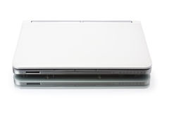 White netbook Stock Image