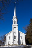 White New England Church Royalty Free Stock Photography