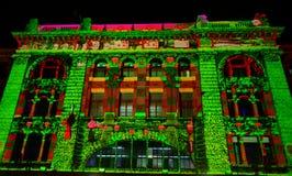 White night festival-2015-flinders Royalty Free Stock Photo