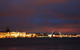 White night in Saint Petersburg Royalty Free Stock Photography