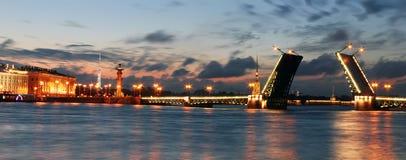 White Night, St. Petersburg, Russia Stock Image
