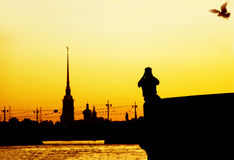 The White Nights of Petersburg. Stock Photography