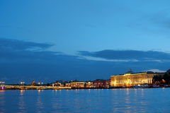 White nights in Saint Petersburg Royalty Free Stock Photo