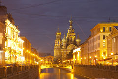 White nights, Saint-Petersburg, Russia Royalty Free Stock Photography
