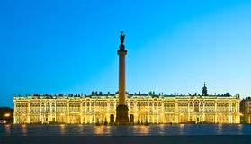 White nights in St.-Petersburg Royalty Free Stock Images