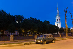 White nights in St. Petersburg, Russia Royalty Free Stock Photo