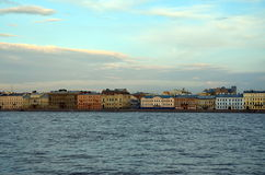 White nights in St. Petersburg Royalty Free Stock Images