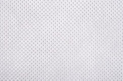 White nonwoven fabric texture Stock Photo
