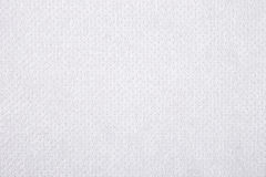 White nonwoven fabric texture background Stock Image