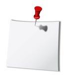 White Note Royalty Free Stock Photos