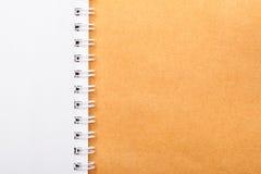 White note book Stock Image