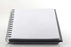 White note book Stock Photography