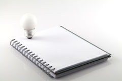 White note book Royalty Free Stock Photo