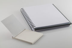 White note book Royalty Free Stock Images