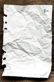 White note book paper Stock Photo